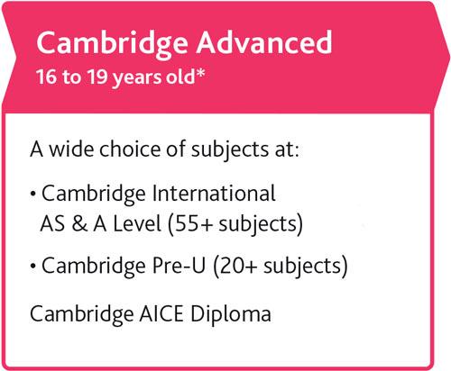 Cambridge Advanced